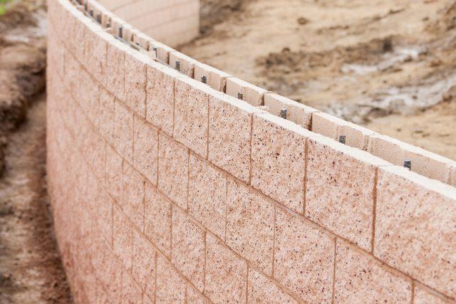 Retaining wall in Gresham